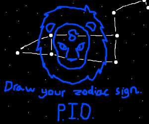 Drawy your zodiac. PIO