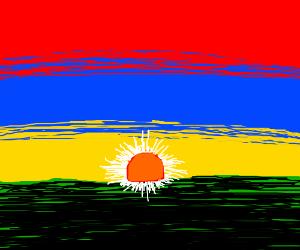 Armenian sunset