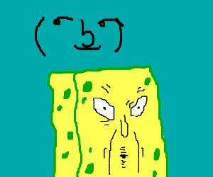 Old Man spongeboob.