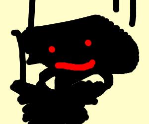 Turn a cute thing into a terrifying demon