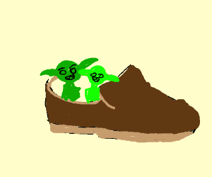 Little Goblins in my Shoes