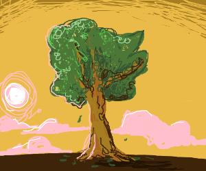 Draw me a fantastic tree
