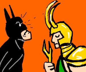 Batman does not approve of big horns