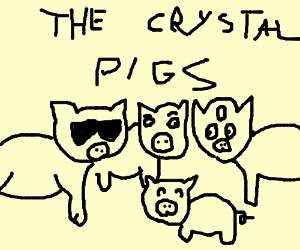 steven universe au: pigs