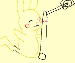 pikachu pole dancing