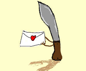 Machete wrote you a love letter