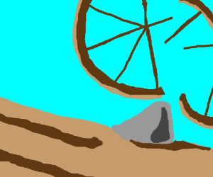 I'm not going to stop the wheel. I'm going to break it