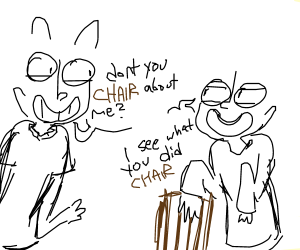 Bad chair pun
