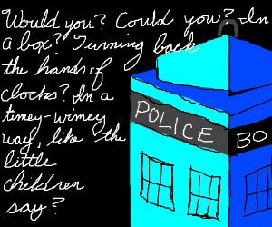 Doctor Who in the style of Dr Seuss
