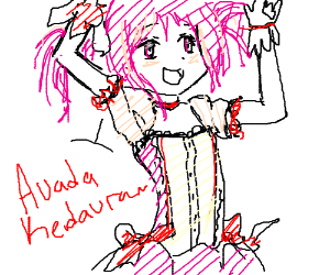 Draw a magical girl!
