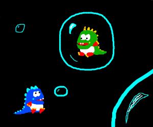 A Bubble Dragon