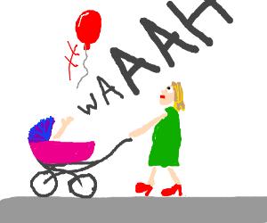 """""""noooooooooo! my balloon flew away!"""""""