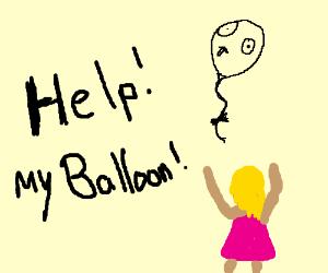Help me with my beautiful balloon