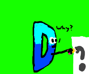 drawception D questions the point of drawing