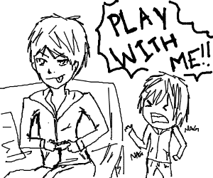 guy playing video games invited out to play drawing by zeldauchiha Candy Crush Saga Game guy playing video games invited out to play