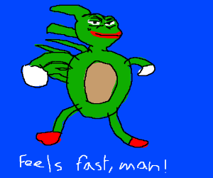 A Rare Pepe Drawception