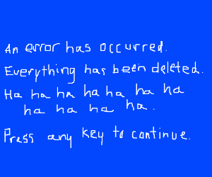 Windows update deleted everything!