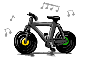 The music cycle (Ha clever)