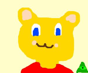 Broken Image- Draw a Cute Winnie the Pooh