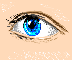 realistic eyeball