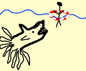 Squid Sherk and stickman