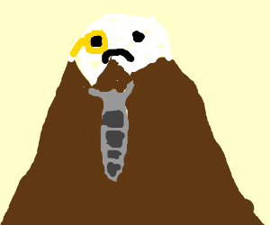 Dapper mountain is upset.