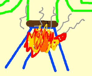 fire crotch