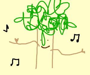 Dancing tree.