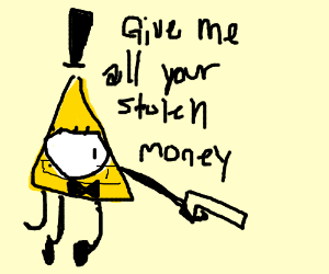 Illuminati dorito robs a robber
