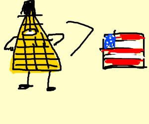 Bill Cipher is better than Illuminati