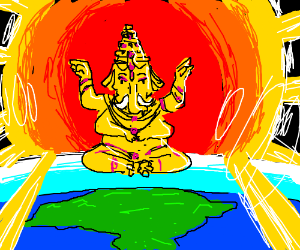 Ganesha owned this earth