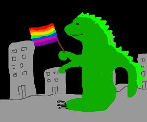 Godzilla is gay