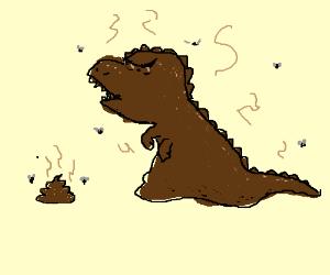 poop dino