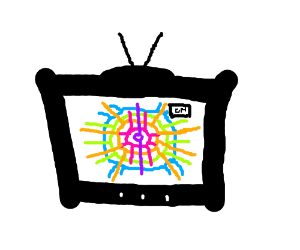 Trippy TV show.