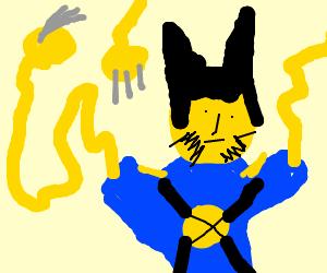 Wolverine has spaghetti arms