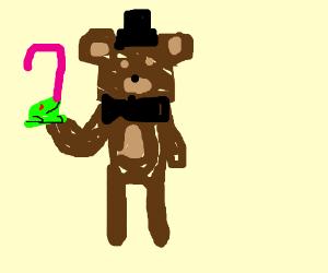 Freddy Fazbear ate SweetFrog, then grew a big