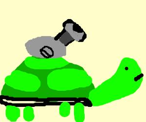 Cannon-turtle