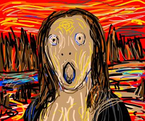 Edvard Munch's Mona Lisa