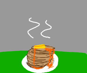 A fine pile of pancakes