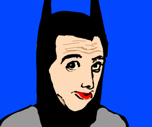 Pee Wee Herman as Batman