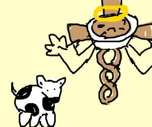 Cow and the holy pesto