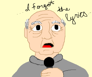 Old man sings Linkin Park