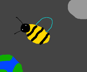 bee in space