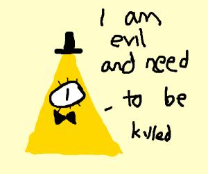 Evil pyramid needs to be killed