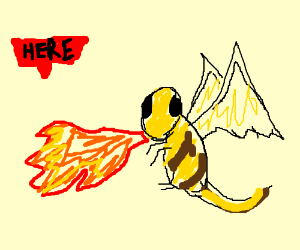 HERE BEE DRAGONS