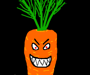 carrots are evil
