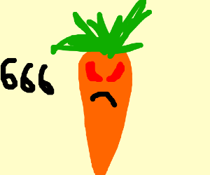 Carrot becomes possesed