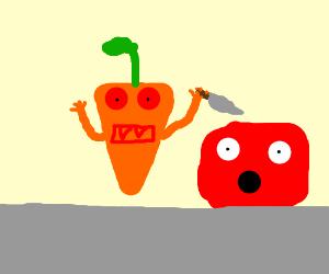 Evil Murderous Carrot