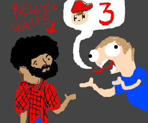 Come on, Reggie! Give us Mother 3! - Drawception
