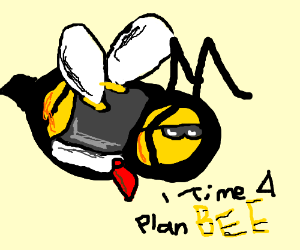 """Bee-agent says: """"Time for plan BEE"""""""